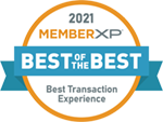 2021 MemberXP Best Transaction Experience